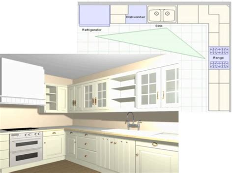 Best Kitchen Layouts by Best Kitchen Layout Corridor Style