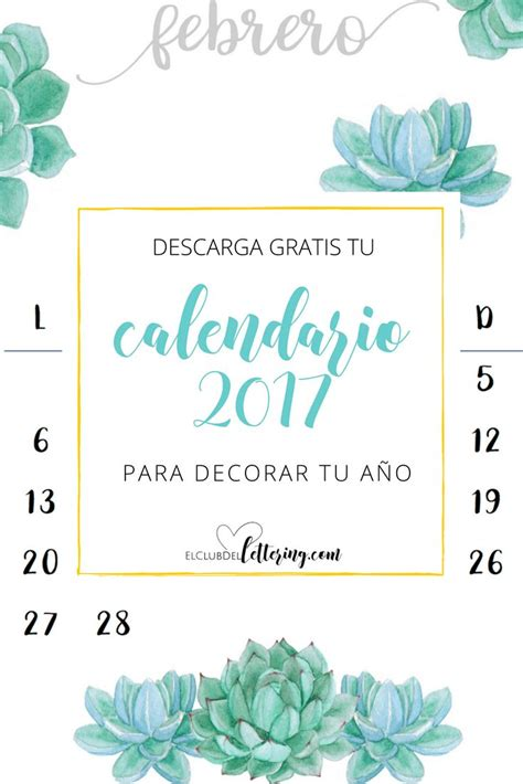 Calendario 2017 Para Descargar M 225 S De 1000 Ideas Sobre Calendario 2017 En