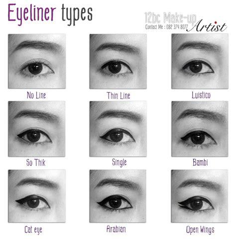 eyeliner types tutorial eyeliner types trusper