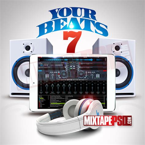 mixtape template your beats 7 mixtapepsd com