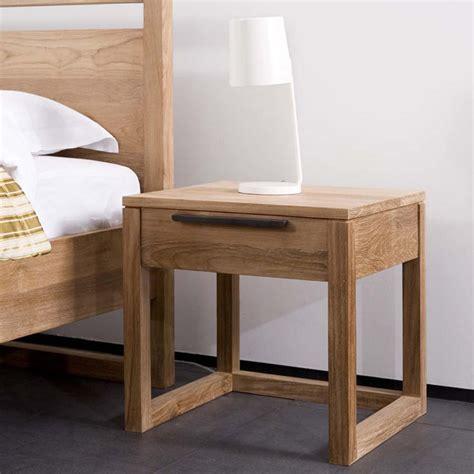 bedside stand teak furniture custom made khao lak home design