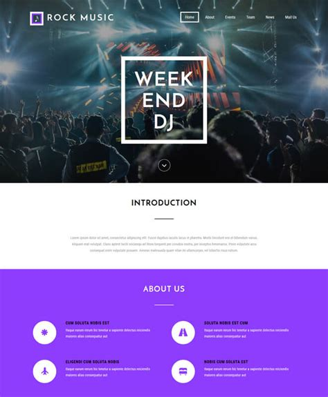 templates bootstrap events free event bootstrap template list of best quality html5