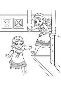 Kertas Mewarna Elsa dan Anna