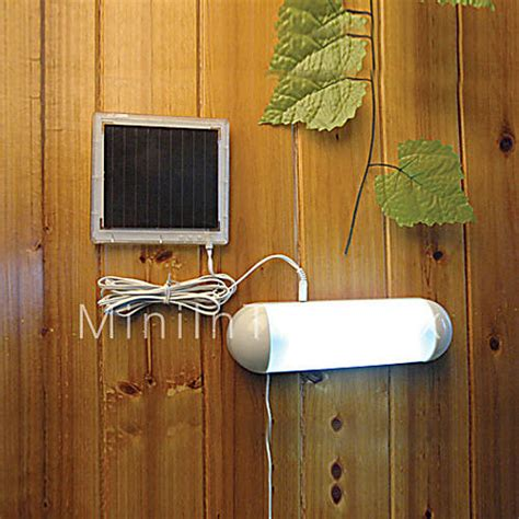 solar powered outdoor lights with switch 5 led indoor outdoor white light led solar powered panel