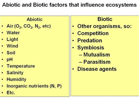 exle of biotic factors rdt biomes home