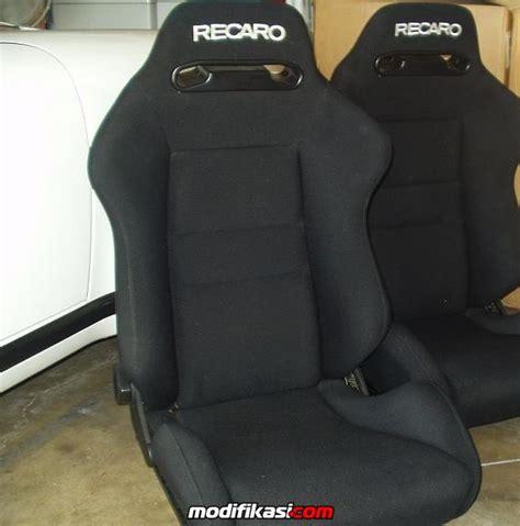 Jok Racing Ergo Black baru for sale jualan aneka jok recaro mugen