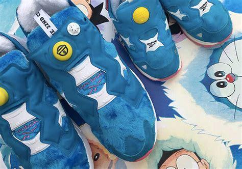 Doraemon Converse Adidas packer shoes reebok instapump fury doraemon sneakernews