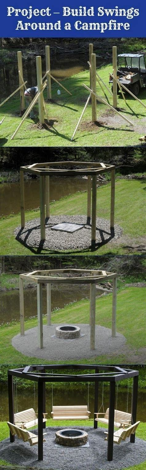 5 swing fire pit 48 best images about deck ideas on pinterest two level