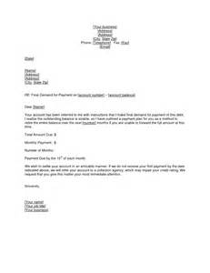 demand payment letter template best photos of demand for payment template