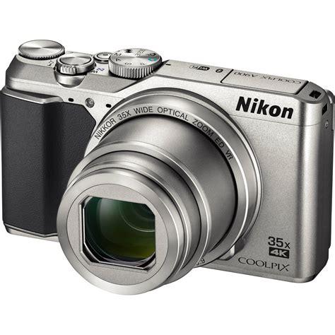 nikon coolpix a900 digital silver 26505 b h photo