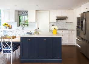 white and blue kitchen cabinets navy blue kitchen island kitchen hay interior