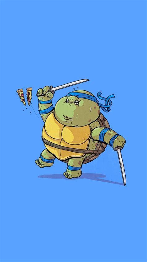 wallpaper cartoon turtle fat mutant ninja turtles leornardo cute ninja