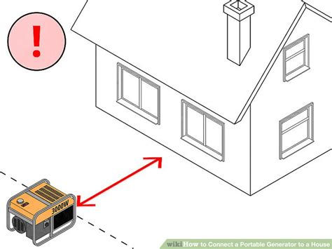 how to connect a portable generator to a house 14 steps