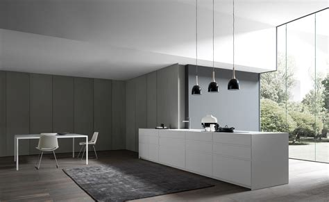 cucine fly fly 1 lacquered island fitted kitchens from modulnova