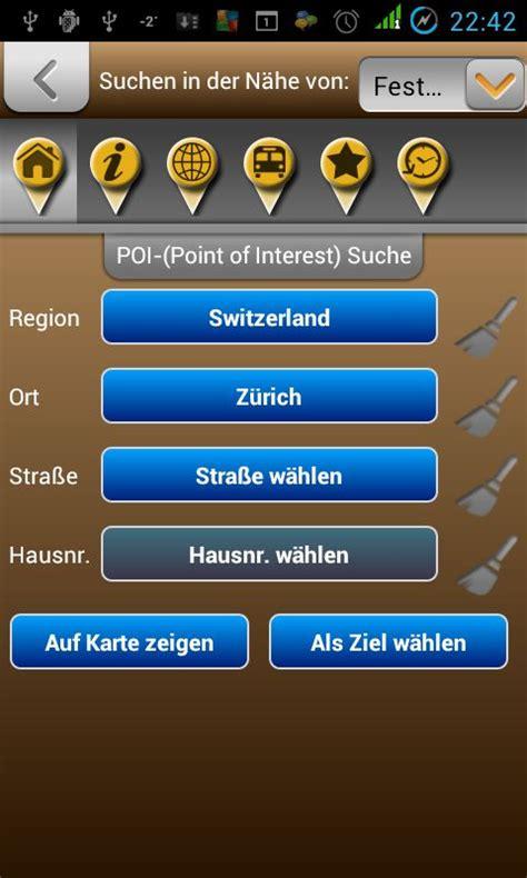 Switzerland Address Search Karte Der Schweiz F 252 R Android