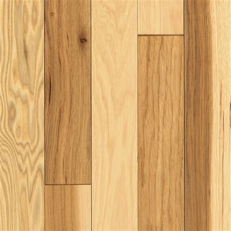 shop mohawk 2 25 in prefinished country natural hickory