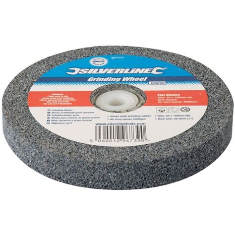 bench grinding wheel silverline bench grinding wheel course 150mm x 20mm