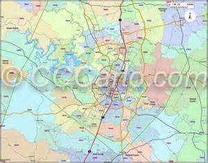 Austin tx zip code map and travis county and city zip code maps for