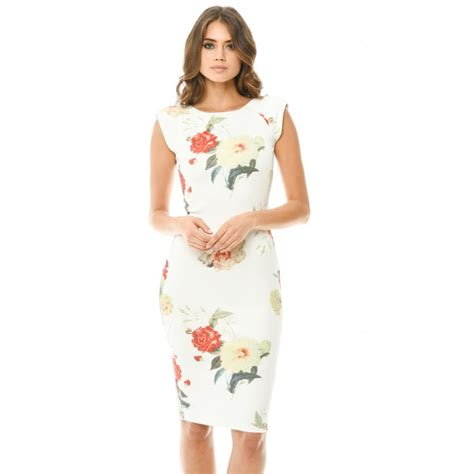 Floral Sleeve Midi Dress capped sleeve floral midi dress
