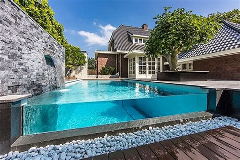 best home pools delightful coral stones around feat wood flooring also