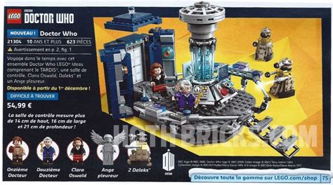 Calendrier Dr Who Lego Doctor Who Set Goes On Sale In December Walyou