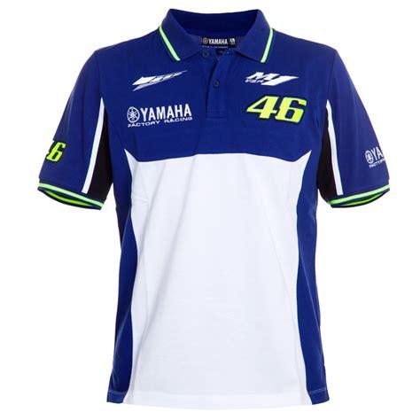 Poloshirt Yamaha 1 100 cotton valentino vr46 m1 racing team moto gp polo shirt for yamaha vr 46 polo t shirt