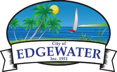 Records Volusia County Florida File Seal Of Edgewater Volusia County Florida Png Wikimedia Commons