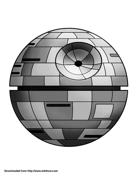 printable death star printable death star pumpkin template wikihow cake how