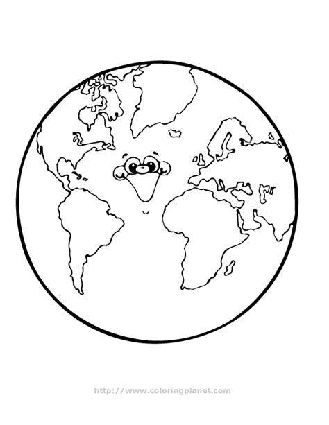 earth coloring page printable planet earth printable pics about space