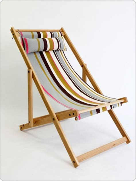 Sling Chair Material by Deck Chair With Fabric Sling And Pillow American