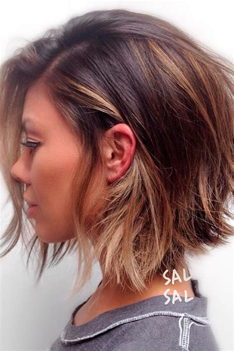 the layered haircut 25 best ideas about short layered hairstyles on pinterest