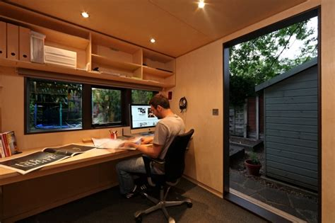 backyard office studio jetson green backyard work studio for a designer