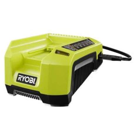 ryobi 40 volt lithium ion charger op400a the home depot