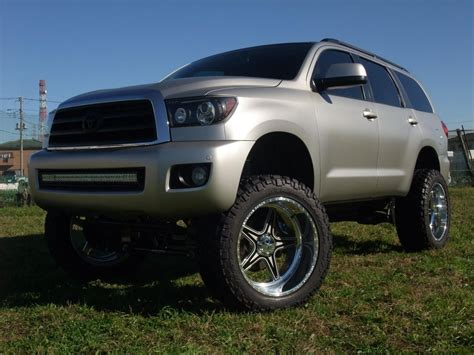 Toyota Sequoia Lifted Toyota Sequoia 10 12 Inch 2008 2014 Suspension Lift Kit