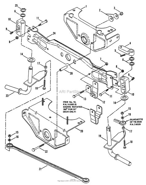 axle diagram snapper lt150h38bbv 38 quot 15 hp hydro drive tractor series b