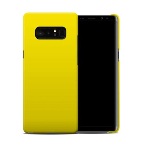 Bumper Clear Casing Iphone Samsung Note Unik Colourful samsung galaxy note 8 clip solid state yellow by solid colors decalgirl