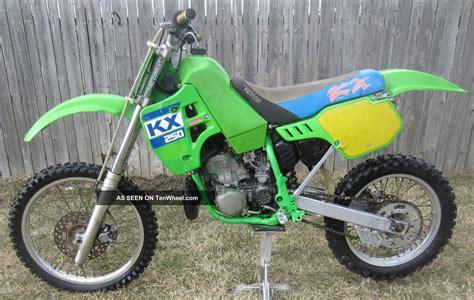 250 motocross bikes for 1988 kawasaki kx250 kx 250 motocross vintage dirt bike