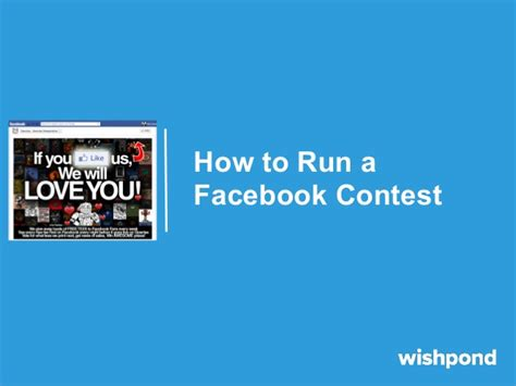 How To Facebook Giveaway - how to run a facebook contest