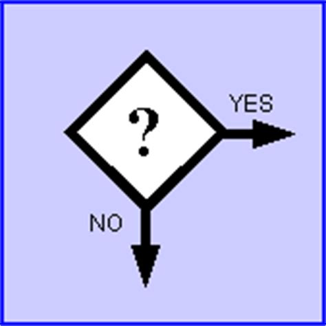 flowchart decision symbol cancer update