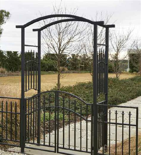 garden arch gate photograph garden arch with gates