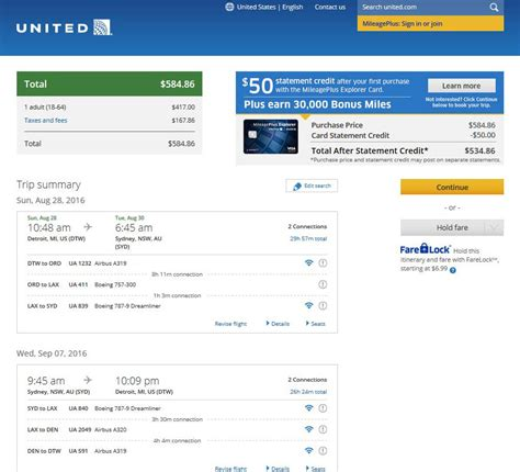 united airlines booking fares gone 483 585 australia from 5 cities into nov
