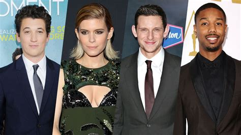 With The 4 Cast Revealed fantastic four cast revealed variety