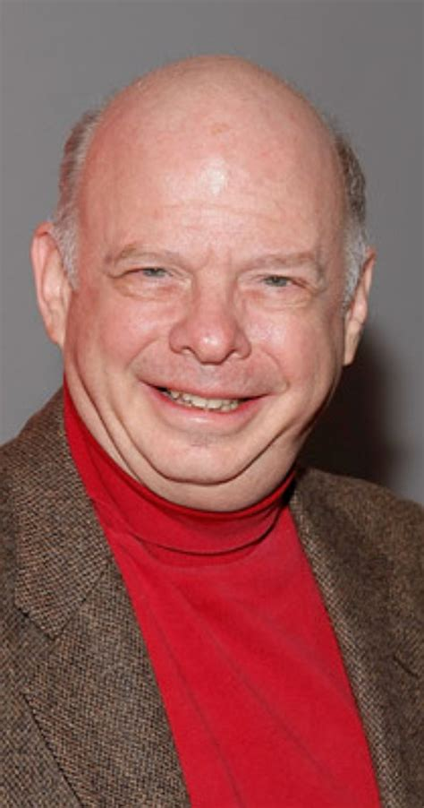 older heavy set actress with deep voice wallace shawn imdb