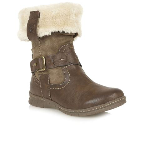 lotus roxana womens casual ankle boots from