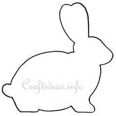 rabbit cut out template 1000 images about feltro ester on felt bunny