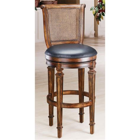 cane bar stool hillsdale dalton 24 in cane back swivel counter stool