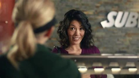 subway commercial actress guacamole subway turkey bacon guacamole tv commercial i ll have
