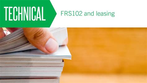 lease advice section 20 frs 102 and leasing aat comment