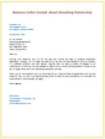 sle business partnership letter the best letter sle