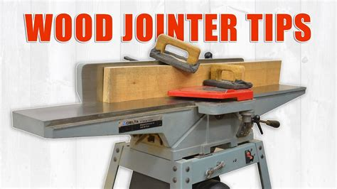 wood jointer tips  setting     jointer youtube